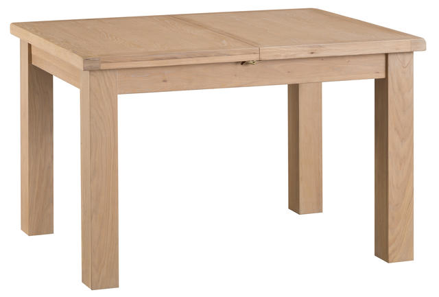 Milan 1.25 mtr Butterfly Extending Table
