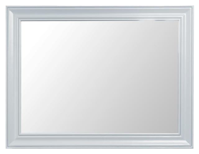 Verona Grey Large Wall Mirror