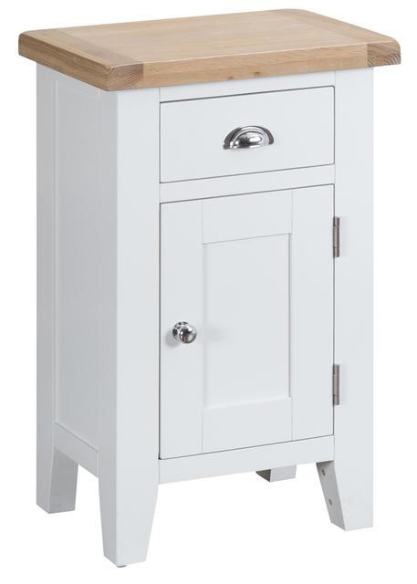 Verona White Small Cupboard