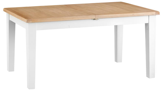 Verona White 1.6 mtr Butterfly Extending Table