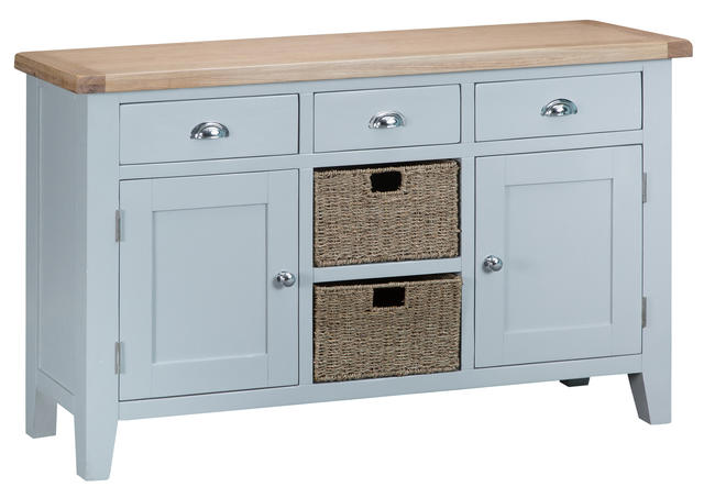 Verona Grey Large Sideboard