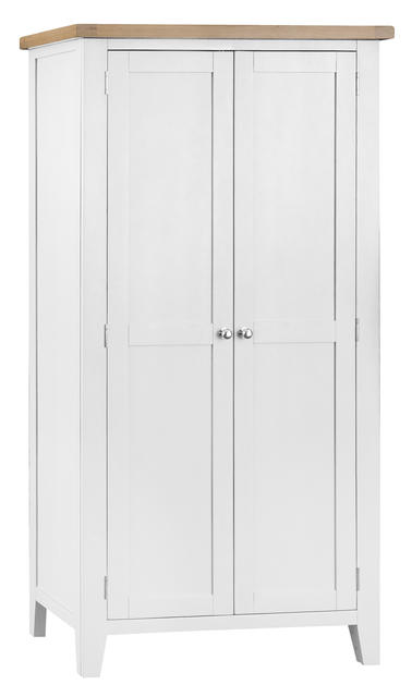 Verona White Full Hanging Wardrobe