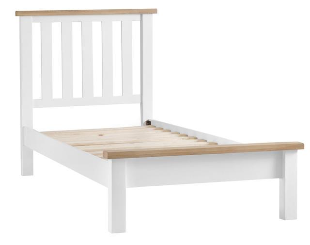 Verona White 3' Bed Frame