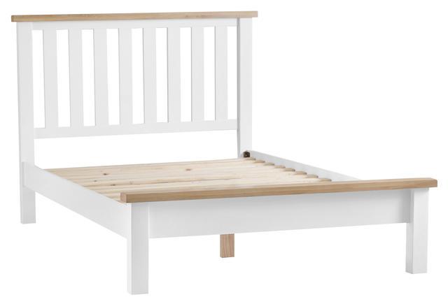 Verona White 4'6 Bed Frame
