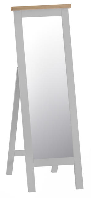 Verona Grey Cheval Mirror