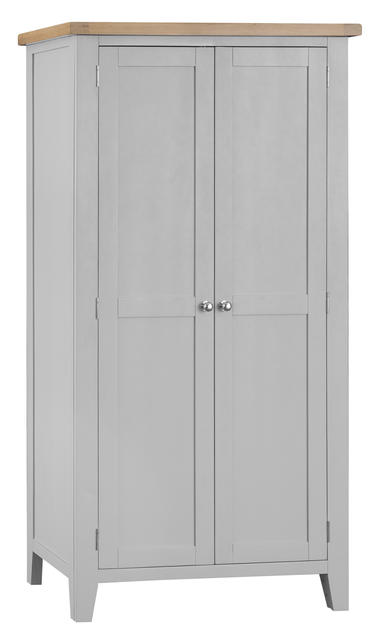 Verona Grey Full Hanging Wardrobe