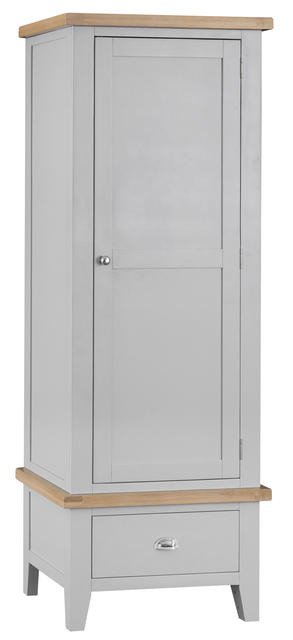 Verona Grey Single Wardrobe