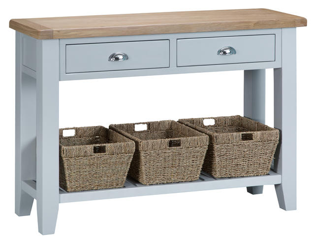 Verona Grey Large Console Table