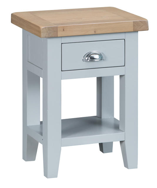 Verona Grey Side Table