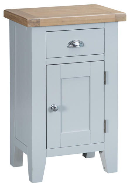 Verona Grey Small Cupboard