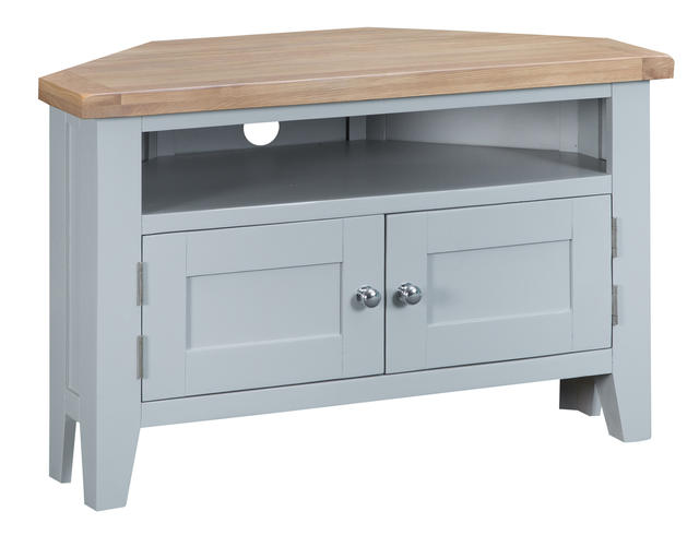 Verona Grey Corner TV Unit