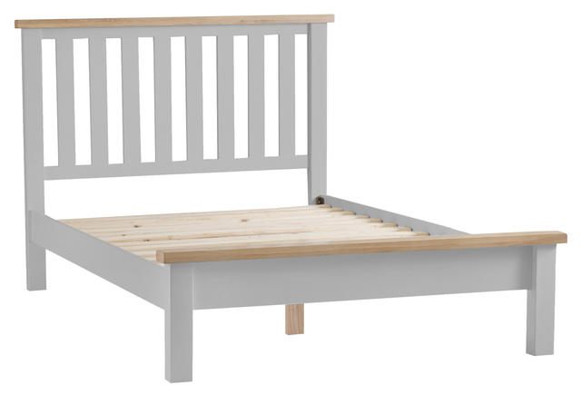 Verona Grey 4'6 Bed Frame