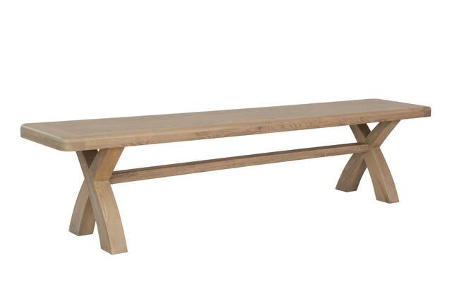Sorrento Cross Leg Dining Bench