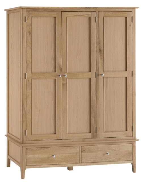 Amalfi Large 3 Door Wardrobe