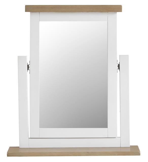 Verona White Vanity Mirror