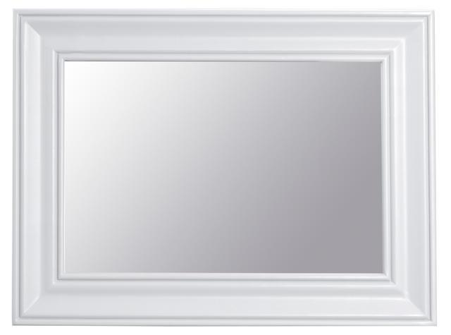 Verona White Small Wall Mirror