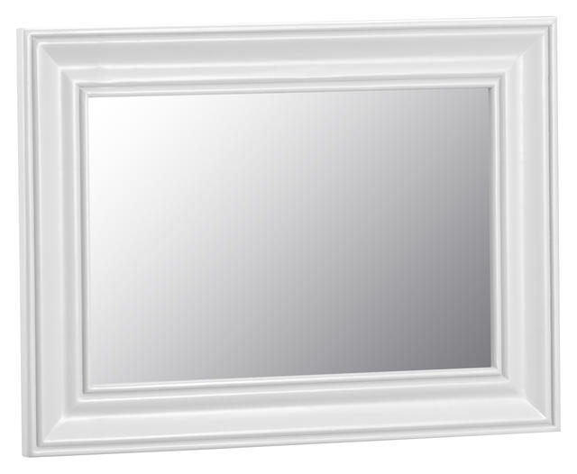 Verona White Small Wall Mirror