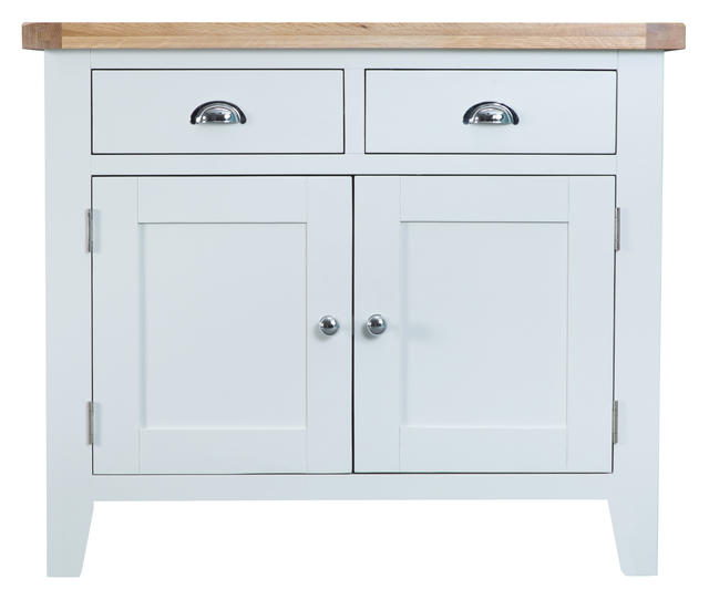Verona White Small Sideboard
