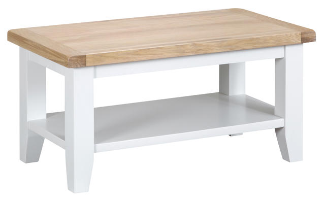 Verona White Small Coffee Table