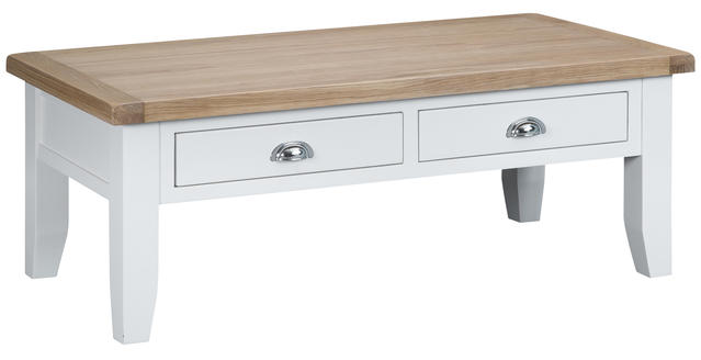Verona White Large Coffee Table
